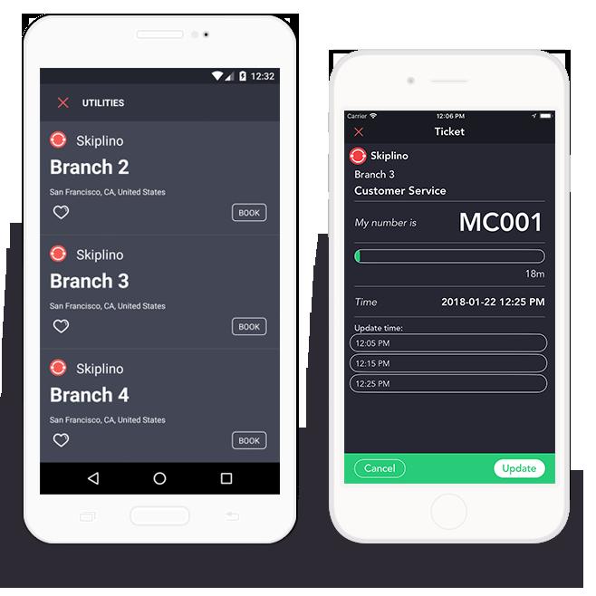 Skiplino - Mobile Queuing App