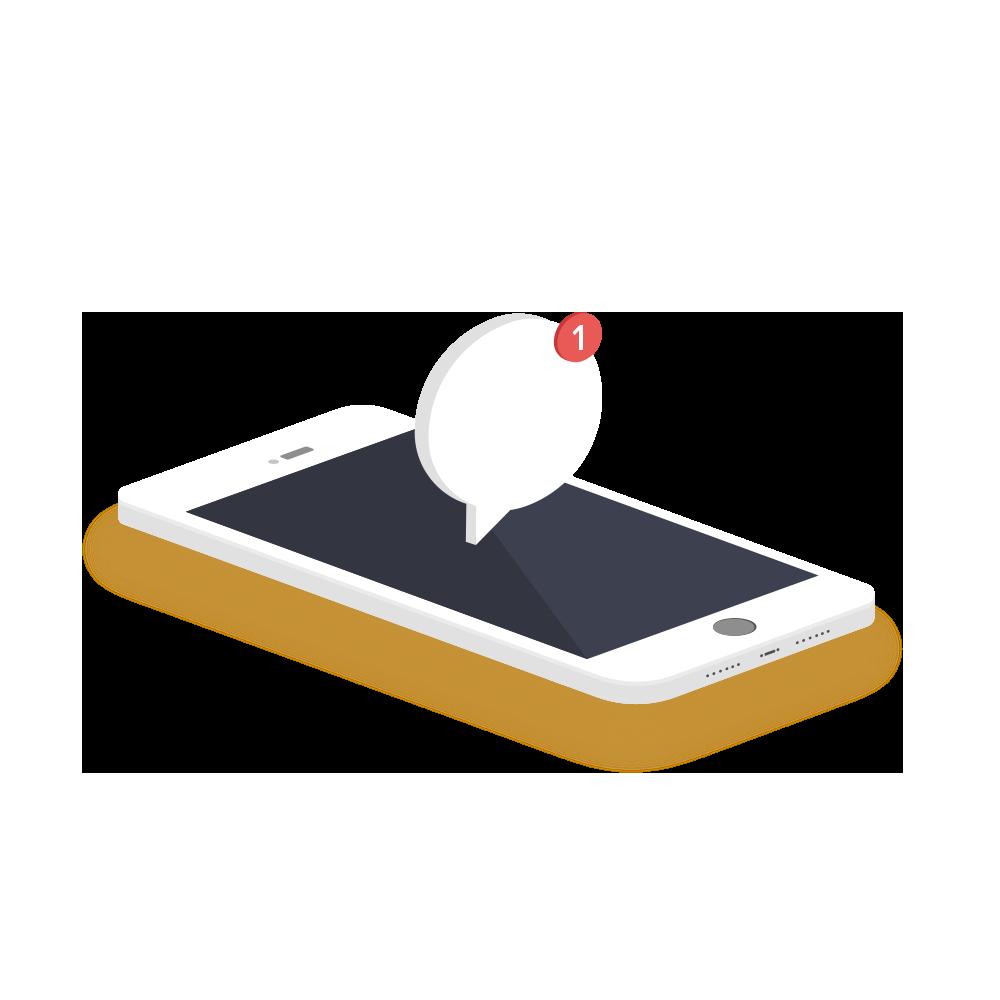 Mobile queue application