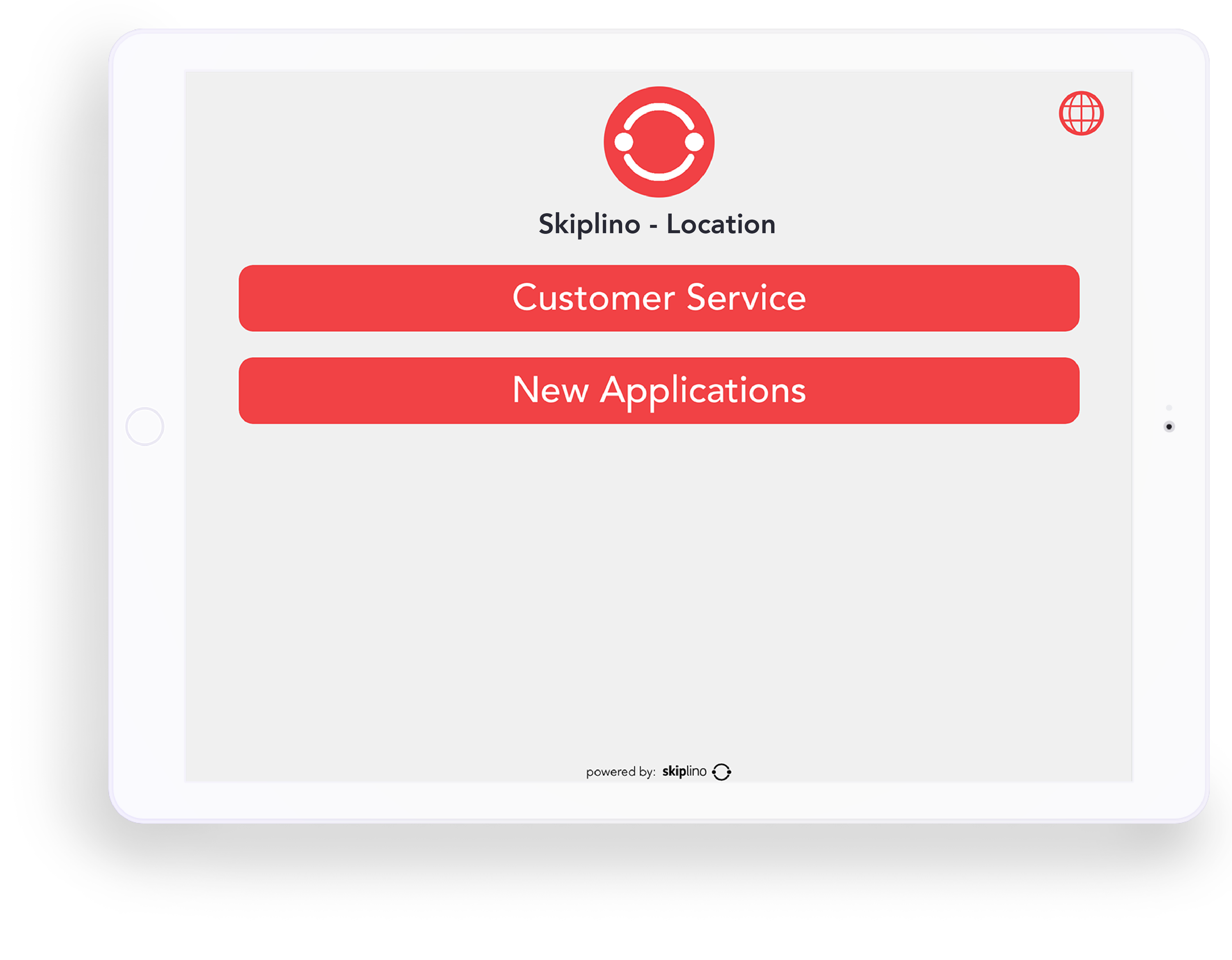 Customer queuing system