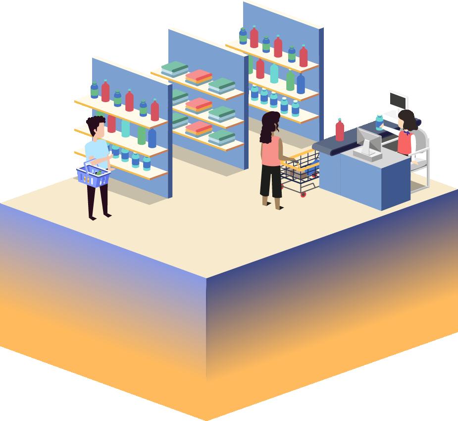 Queue management for retail business